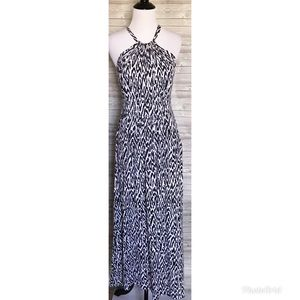 4 for $44 banana republic halter maxi dress